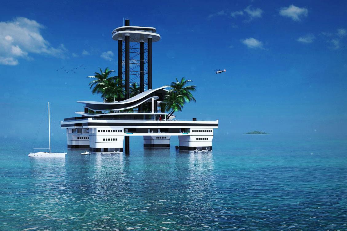Plutajući otok za najbogatije