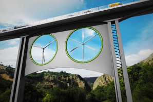 Vjetroturbina ispod mosta može proizvesti struju za 500 domova